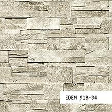 MUESTRA de papel pintado EDEM serie 918 | Papel pintado no tejido XXL piedra, 918-XX:S-918-34