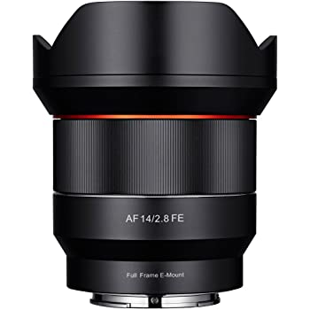 Samyang SYA1SE Lente 14 mm AF F2.8 per Sony E, Nero