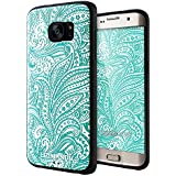 Galaxy S7 Edge Coque,Lizimandu 3D Motif Tpu Silicone Gel Étui Housse Protection Shell Cover Case Pour Samsung Galaxy S7 Edge(Spirale/Spiral)