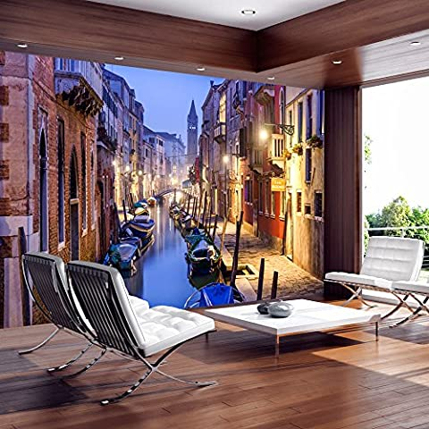 Fotomural 250x175 cm ! Papel tejido-no tejido. Fotomurales - Papel pintado Venecia c-B-0055-a-a