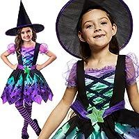 Amscan Déguisement Enfant Fille Jeune Ensorceleuse Sorcière Halloween