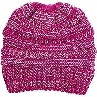 Sombrero de Invierno Sombrero de punto Hombres Mujeres Baggy Warm Crochet Invierno de lana Tejer Ski