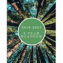 2019-2023 5 Year Planner: Weekly To-Do List Diary