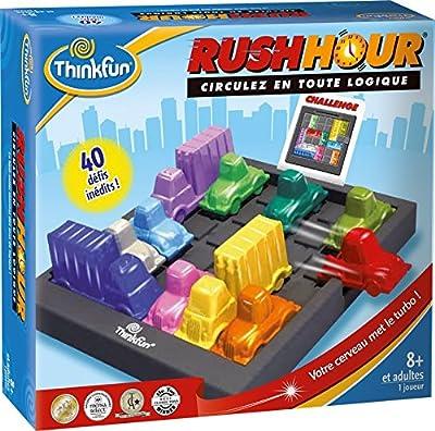 ThinkFun - TFRH01 - Jeu enfants - Rush Hour Classique