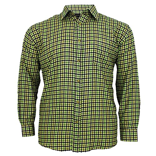 Cotton Valley - Chemise casual - Homme Cream/Lovat Check