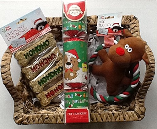 Dog Hamper full of goodies - perfect gift for a very special pet