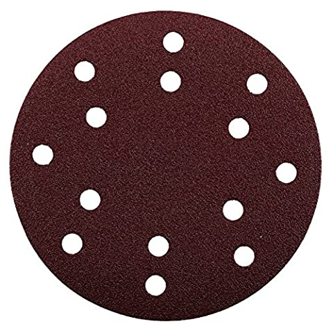 Kwb Tools 5420-08 KWB Quick Stick Wood and Metal Self Adhesive Sanding Discs 150 mm Diameter Perforated 5420 08 1 Red