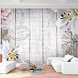 Fototapete Blumen 352 x 250 cm - Vliestapete - Wandtapete - Vlies Phototapete - Wand - Wandbilder...