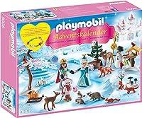 "PLAYMOBIL 9008 - Adventskalender ""Eislaufprinzessin im Schlosspark"""