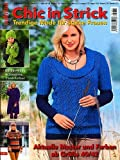 Chic in Strick: Trendige Mode für starke Frauen - Aktuelle Muster und Farben ab Größe 40/42 (Illustrierte Ausgabe inkl. Anleitungen mit Strickschriften) [Handarbeits-Journal / Broschiert] (Sabrina Special)