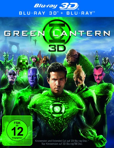 Green Lantern (Extended Cut) (+ Blu-ray) [Blu-ray (Superhelden Laternen)