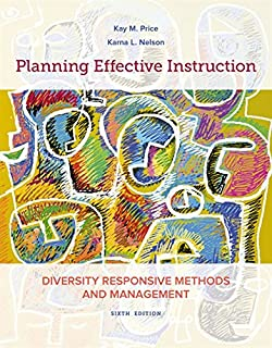 Planning Effective Instruction: Diversity Responsive Methods and Management (1337564842) | Amazon price tracker / tracking, Amazon price history charts, Amazon price watches, Amazon price drop alerts