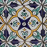Orientalische Handbemalte Fliese Asya