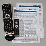 Abbildung HbbTV4You Service-Fernbedienung V2.0 Plus für Samsung K- und KU-Serien zur Freischaltung von PVR und TimeShift bei KU6079 KU6099 KU6179 KU6409 KU6459 KU6479 KU6509 KU6519 K5579 K5589 u.a.