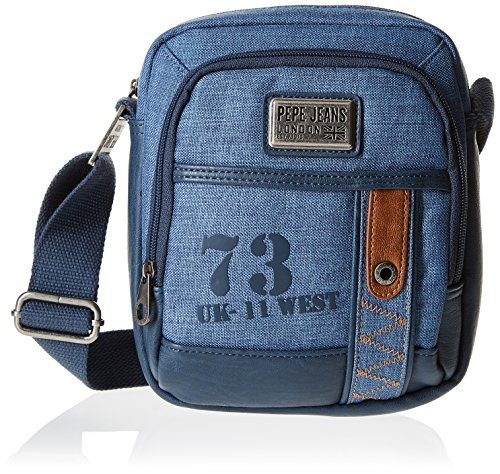 Pepe Jeans 73 Bolso Bandolera, 3.83 Litros Color Azul