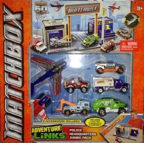 matchbox-adventure-links-police-headquarters-jumbo-pack