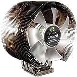 Zalman CNPS9700NT PC ventilateur de refroidissement (35dB Pentium 4Celeron D, Pentium D, Core 2Duo Sempron Athlon 64–Athlon 64X2/Athlon 64FX Opteron, Noir, Argent, 766G, 124x 90x 142mm; 2800tr/min)