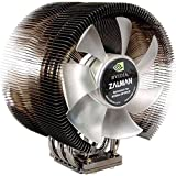 Zalman CNPS9700NT PC Cooling Fan (35dB Pentium 4Celeron D, Pentium D, Core 2Duo Sempron Athlon 64–Athlon 64X2/Athlon 64FX Opteron, Black, Silver, 766g, 124x 90x 142mm; 2800RPM)
