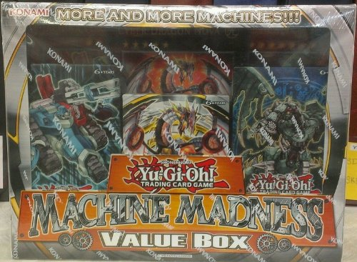 Yu-Gi-Oh!-Yu-Gi-Oh!-Maschine Madness, Structure Deck Wert 3 3 Jumbo-Karte (Cyber Dragon Revolution Machina Mayhem Maschine Revolt) - Deck Structure Yugioh Machina
