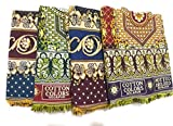 Cotton Colors Solapuri Chaddar- Authentic Designed 100% Cotton(Pack of 4)