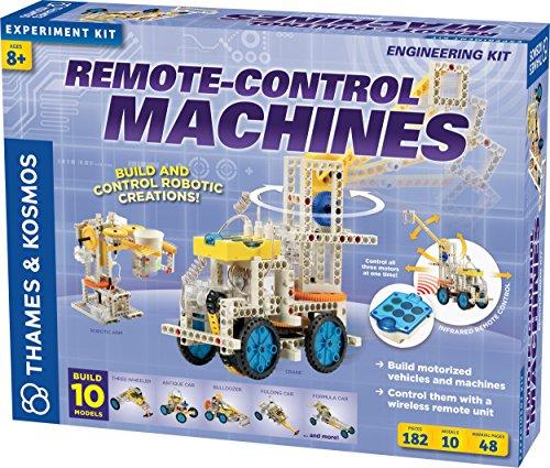 Remote-Control Machines (Construction+science) -