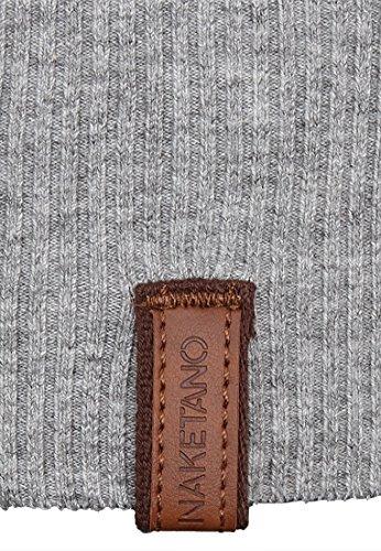 Naketano Female Knit Majas Lieblingspulli IV Grey-Rainbow Melange