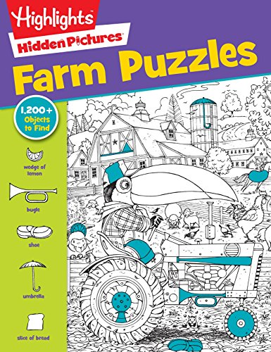 Highlights Hidden Pictures® Favorite Farm Puzzles (Favorite Hidden Pictures®) (Hidden Picture Puzzles)