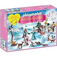Playmobil 9008 - Adventskalender Eislaufprinzessin im Schlosspark