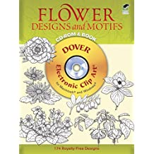 Flower Designs and Motifs (Dover Electronic Clip Art)