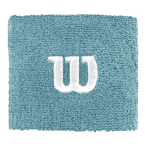 WILSON W Wristband Muñequera de Tenis
