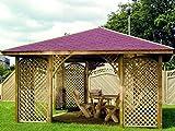 Pavillon Dulcamara - Abmessung: 400 x 400 cm (L x B)