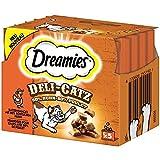 Dreamies Deli Catz mit Huhn | 8X 25g Katzensnack, Leckerli