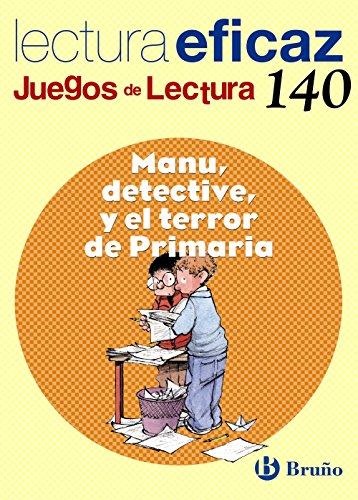 Manu, detective, y el terror de Primaria Juego de Lectura (Castellano - Material Complementario - Juegos De Lectura) - 9788421660485