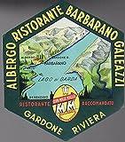eBook Gratis da Scaricare Albergo Ristorante Barbarano Galeazzi Gardone Riviera Ristorante raccomandato (PDF,EPUB,MOBI) Online Italiano