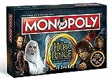 Monopoly - Herr der Ringe - Deutsch - 6 Sammler Spielfiguren | Gesellschaftsspiel | Brettspiel