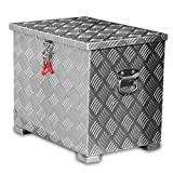80l Alukiste Werkzeugkiste Alubox Deichselbox Staubox Gurtkiste Box Alu Kiste TB1