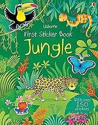 First Sticker Book Jungle by Alice Primer (2014) Paperback