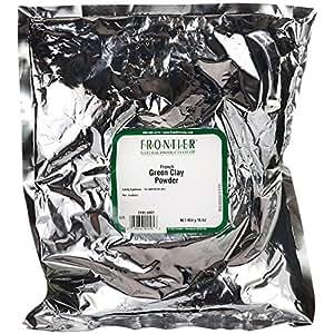 French Green Clay Powder, 16 oz (453 g)