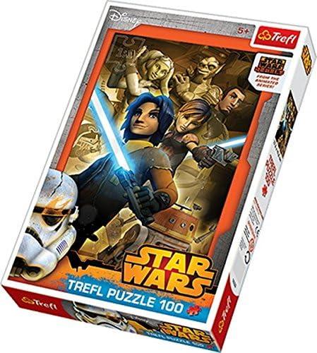 Trefl - 16252 - Puzzle Classique - Star Wars - 100 Pièces | être Nouvelle Dans La Conception