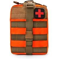 Senmir MOLLE Tactique Pochette, Trousse de secours médical, EMT Poche, Médical Trousses, Sac à Dos Tactique pour Voyages…