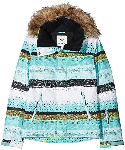 Roxy Damen JK Jet Ski-Snow Jacket, Aruba Blue, M (Roxy Damen Jet)