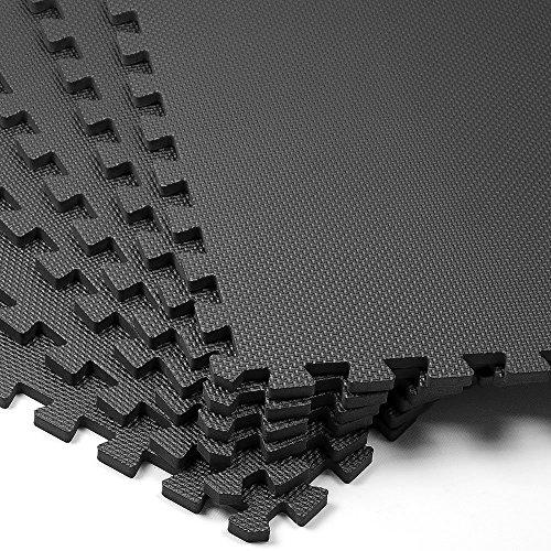 Preisvergleich Produktbild Puzzlematte 6er Set - Bodenschutzmatte - 183,5 x 123,5cm Spielmatte Sportmatte Spielteppich