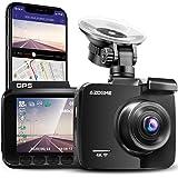 AZDOME 4K WiFi Dashcam mit GPS Autokamera mit 170° Weitwinkelobjektiv, Nachtsicht, Loop-Aufnahme, G-Sensor, Parkmonitor…