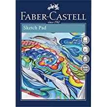 Faber-Castell Creative Studio Sketch Pad, A4 100 GSM Pad of 50 Sheets