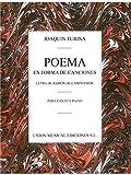 Joaquin Turina: Poema En Forma De Canciones. Für Gesang, Klavierbegleitung
