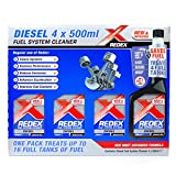 Best Diesel Fuel Additives - Redex Diesel Injector Cleaner Set of 4 Bottles Review