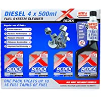 Redex Diesel Injector Cleaner Set of 4 Bottles