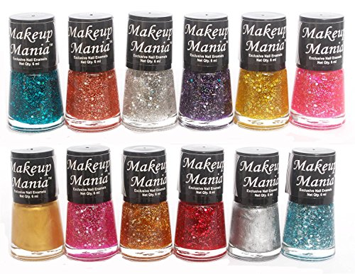 Makeup Mania Exclusive Nail Polish Set of 12 Pcs (Multicolor Set # 71)