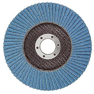 Agera Tools Fächerschleifscheiben Zirkon-Korund, Durchmesser 125 x 22 mm K40, 111125-040