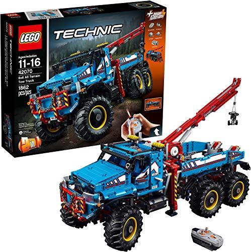 Lego Technic 6x6 All Terrain Abschleppwagen 42070 Building Kit (1862 Teile)